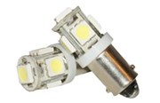Bajonet fitting 5 SMD LED