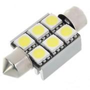 C5W 6 SMD LED 36mm