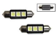 C5W 3 SMD LED 39mm