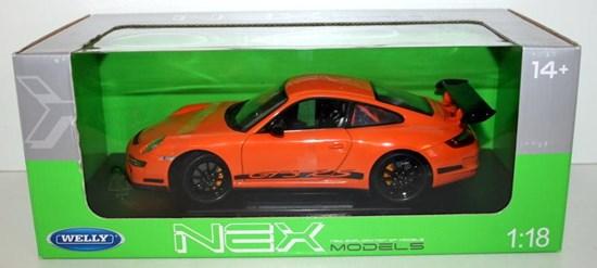 PORSCHE 911(997) GT3 RS oranje 1/18