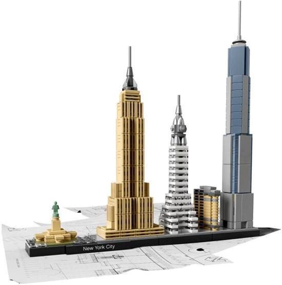21028 lego ARCHITECTURE NEW YORK CITY 12 +