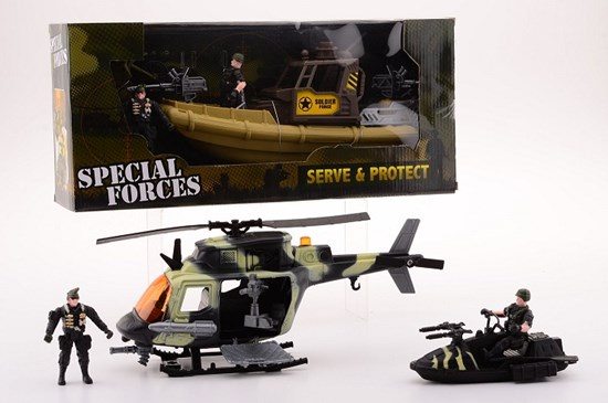 COMBAT FORCE SERVE & PROTECT  set 5+