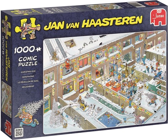 JvH KERSTAVOND puzzel 1000stukjes