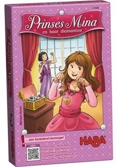 haba PRINSES MINA & HAAR DIAMANTEN memory spel 4 - 99 jaar