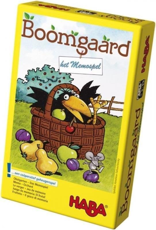 haba BOOMGAARD  het MEMO spel 3-99 jaar