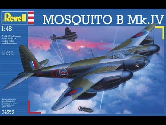revell MOSQUITO B Mk IV    1/48