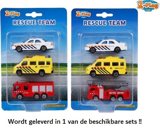 2play 3in1 NEDERLANDSE 112 AUTO set