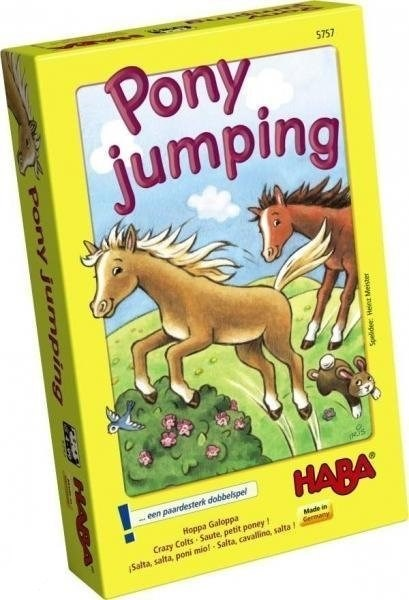 haba PONY JUMPING spel  4 +