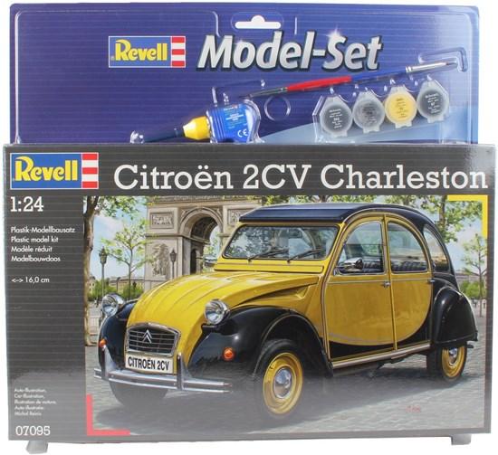 67095 modelset CITROEN 2CV CHARLESTON 1/24