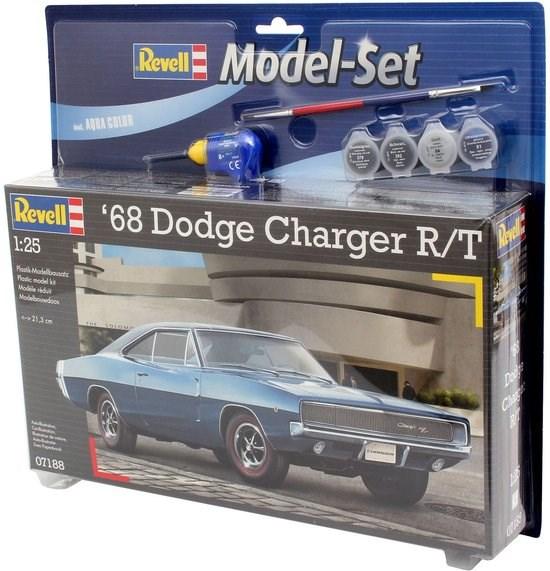 67188 model set '68 DODGE CHARGER R/T 1/24