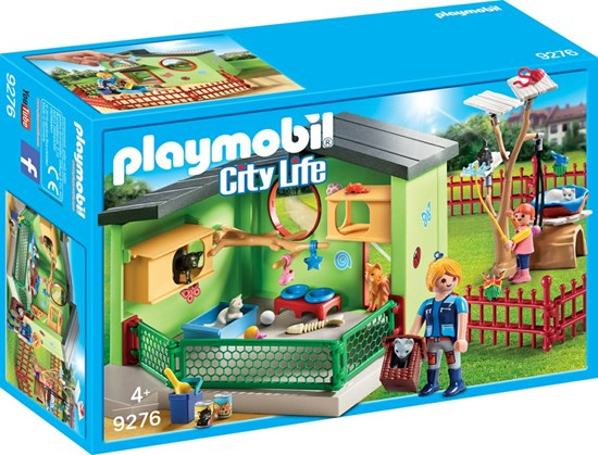 9276 playmobil KATTENVERBLIJF  4+