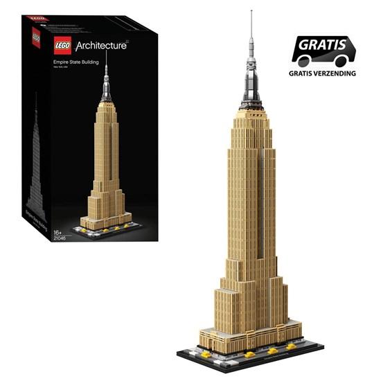 21046 lego architecture EMPIRE STATE BUILDING 16+