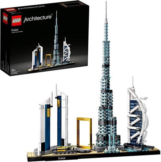 21052 lego ARCHITECTURE SKYLINE van DUBAI 16+